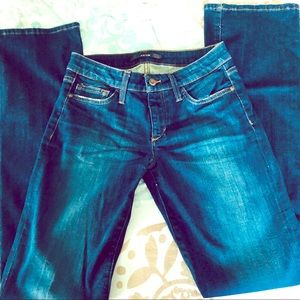 """Joe's Jeans Straight Leg Booty Fit """"Bella"""" sz 27 W"""